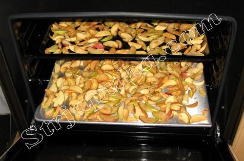 как сделать сушку из яблок в электрической духовке