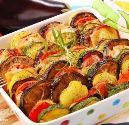 печеные овощи в духовке